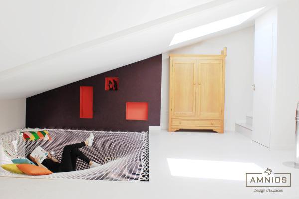 amenagement combles - grenbole - amnios - maitre d'oeuvre - renovation - agence architecture - vue d'ensemble sur le filet