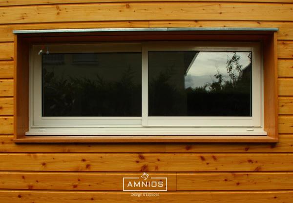 extension - maison - grenoble - st egreve - renovation - architecture - amnios - zoom sur la fenetre