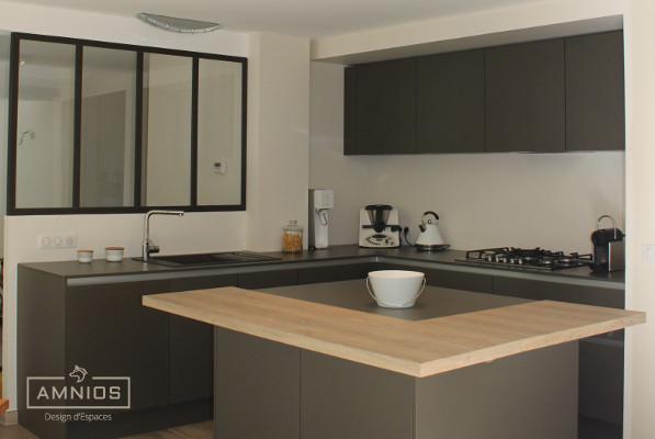 renovation - maison - grenoble - amnios - maitre d'oeuvre - design - cuisine de la maison