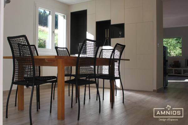 renovation - maison - grenoble - amnios - maitre d'oeuvre - design - vue sur la cuisine