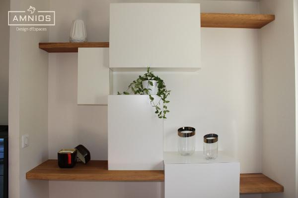 renovation - maison - grenoble - amnios - maitre d'oeuvre - design - meuble sur mesure