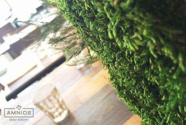 la barratte - restaurant - renovation - grenoble - design - amnios - decoration vegetale