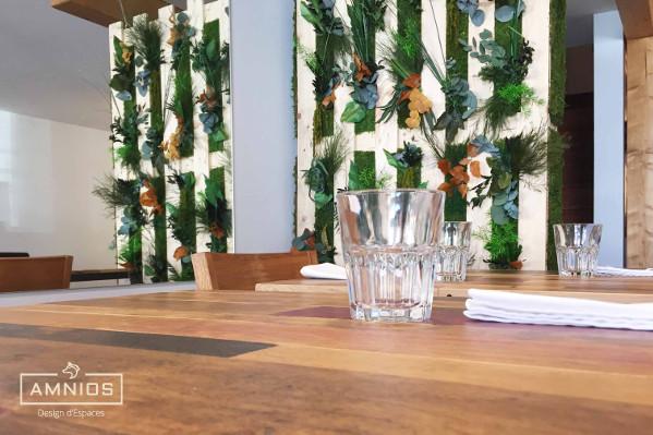 la barratte - restaurant - renovation - grenoble - design - amnios - table du restaurant