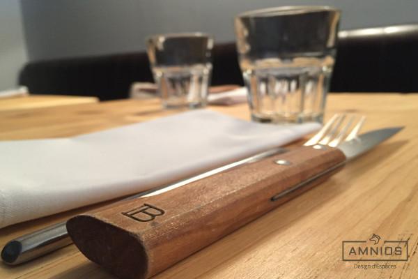 la barratte - restaurant - renovation - grenoble - design - amnios - couteau du restaurant