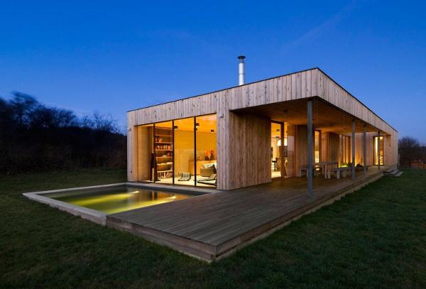 maison bois - maison bois moderne - maison écologique - grenoble - agence architecture - design bois