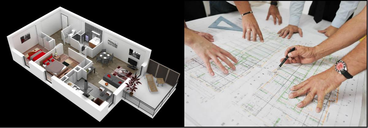 maître d'œuvre - architecte
